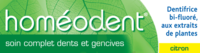 Boiron Homéodent Soin Complet Dents Et Gencives Pâte Dentifrice Citron 2t/75ml à Farebersviller