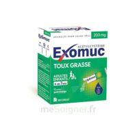 EXOMUC 200 mg granulés usage oral en sachet 15 Sachets/2g à Farebersviller
