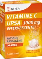 Vitamine C Upsa Effervescente 1000 Mg, Comprimé Effervescent à Farebersviller